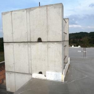 Budowa budynku P-5